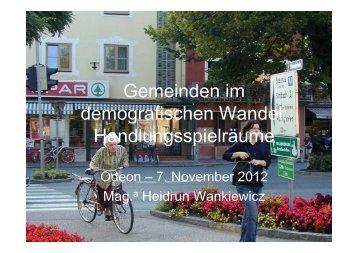 Wankiewicz @ Odeon - Aktiv Altern 2012