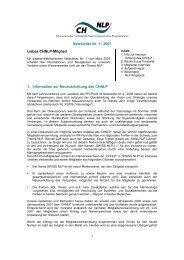 Newsletter Nr. 1 / 2007 Liebes CHNLP-Mitglied 1 ... - SWISS NLP