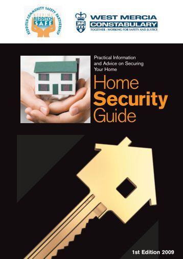 Home Security Guide - Redditch Borough Council