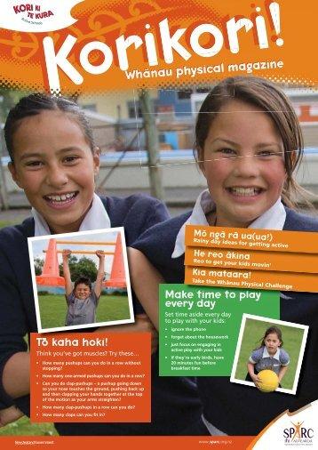 Whanau physical magazine Wha azine nau physical Wh Whaa ...
