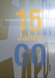 Geschäftsbericht 2012 - Argomed
