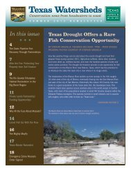 Texas Watersheds - Texas Parks & Wildlife Department