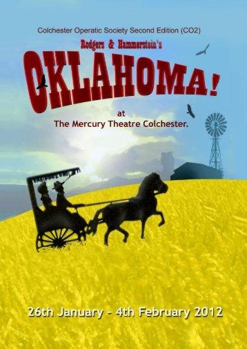 Oklahoma! 2012 - Colchester Operatic Society