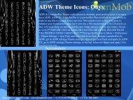 ADW Theme Icons: Onyx - RunMob