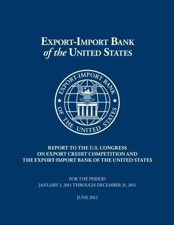 2011 Competitiveness Report - Export-Import Bank of the United ...