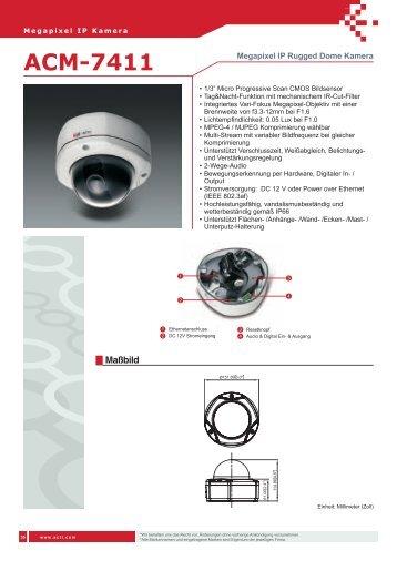 ACM-7411 - IP CCTV GmbH