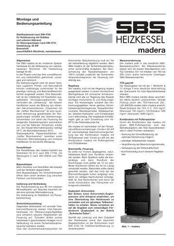 madera - SBS Heizkessel