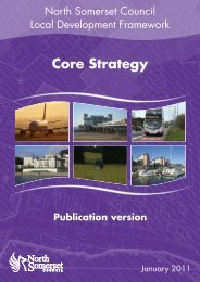 Core Strategy publication version - North Somerset Council