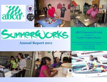 Annual Report 2011 - Action for Boston Community  Development