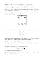 1. Zistite a dokážte, pre aké prirodzené čísla n platí nerovnosť n! > 2 ...