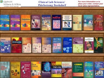 Phlebotomy Bookshelf - Lippincott Williams & Wilkins