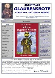 Nr. 64, Ausgabe 5, Juni 2010