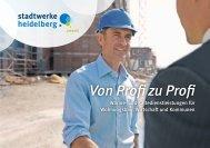 Von Profi zu Profi: Wärme - Heidelberger Versorgungs
