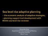 Adaptation Planning for Sea Level Rise - Tampa Bay Regional ...