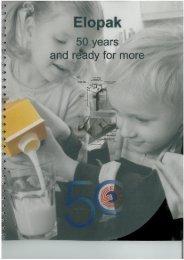 50 Year Anniversary Book - Elopak