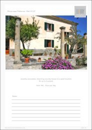 Finca near Pollenca - Ref. 01-27 - Luxury Holidayhomes on Mallorca