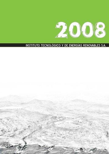 Memoria de actividades del ITER 2008 - Instituto Tecnológico y de ...