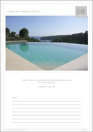 Chalet in Sol de Mallorca - Ref. 01-73 - Luxury Holidayhomes on ...