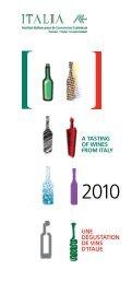 CATALOGUE 2010 - Délégation Commerciale d'Italie