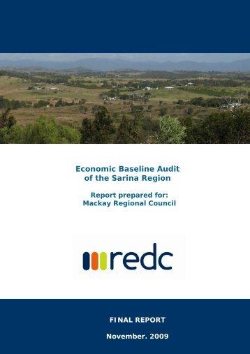 Economic Baseline Audit of the Sarina Region - Mackay Regional ...