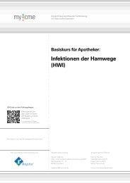 Infektionen der Harnwege (HWI) - my-cme.de