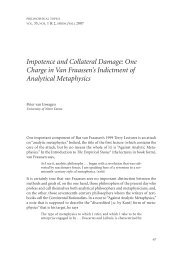 Impotence and Collateral Damage: One Charge ... - Andrew M. Bailey