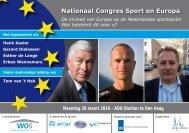 Brochure congres Sport en Europa - WOS