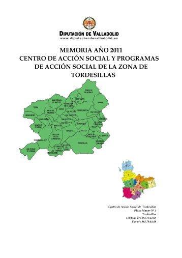 MEMORIA TORDESILLAS 2011 DEF - Diputación de Valladolid