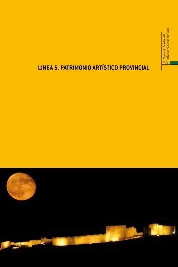 Línea 5. Patrimonio artístico provincial - Diputación de Valladolid