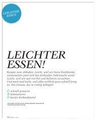 BRIGITTE - Leichter Essen - BRIGITTE.de