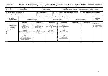 Psychology - School of Life Sciences - Heriot-Watt University