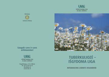 Tuberkuliozė- išgydoma liga - Užkrečiamųjų ligų ir AIDS centras