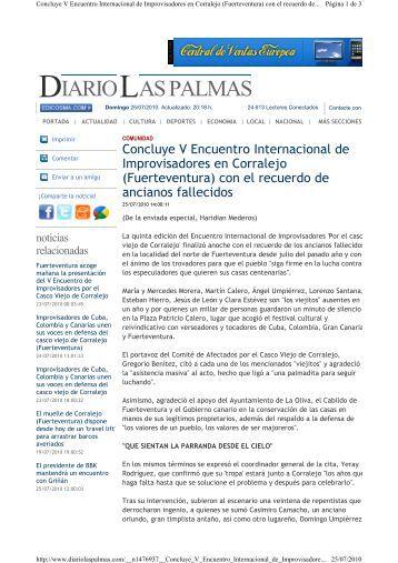 Concluye el V Encuentro Internacional de Improvisadores en ...