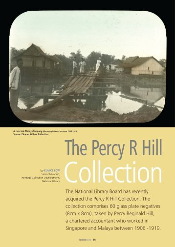 the Percy R Hill Collection - National Library Singapore