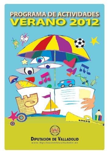 programa actividades verano 2012 - Diputación de Valladolid