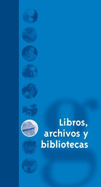 Libros, Archivos, Bibliotecas - Diputación de Valladolid