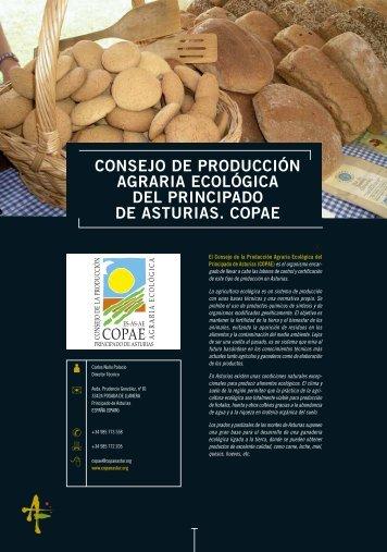 CONSEJO DE PRODUCCIÓN AGRARIA ECOLÓGICA ... - Asturex