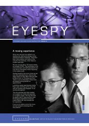 EyeSpy July 2002 - Eyecare Collins Place