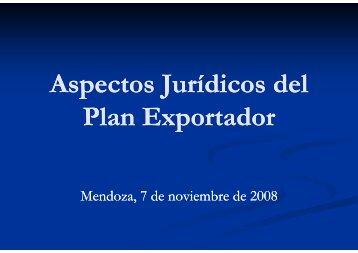 Aspectos Jurídicos del p J p J Plan Exportador p - Wines Of Argentina