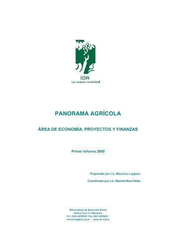 Primer Informe Agricola 2009.pdf - Wines Of Argentina