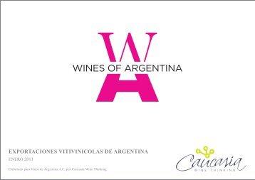 Exportaciones Vitivinícolas de Argentina - Enero 2013 - Wines Of ...