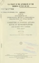 committee on foreign affairs house of representatives - Archives ...