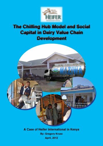The Chilling Hub Model and Social Capital in Dairy ... - Cop-ppld.net