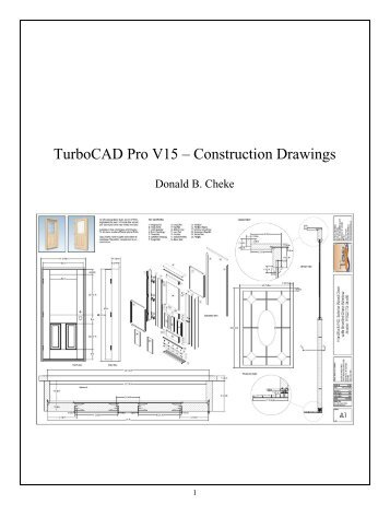 TurboCAD Pro V19.1 Drawing Template SAMPLE