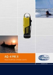AQ-4 MK II Multi Purpose Strope Lights Data Sheet