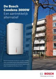 Download het Condens 3000W leaflet - Bosch