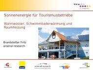 Kein Folientitel - Austria Solar