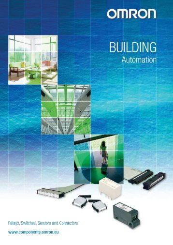 Building Automation Components & Technologies - Omron Europe