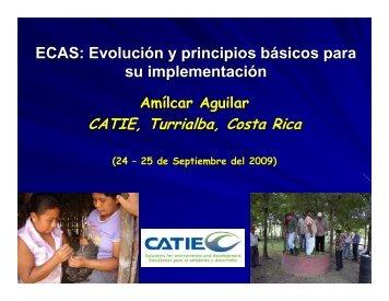 para obtener la ponencia de Amílcar Aguilar - Catie