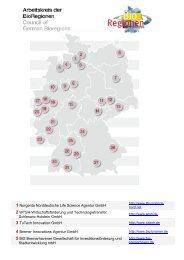 1 Norgenta Norddeutsche Life Science Agentur ... - BIO Deutschland